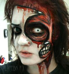 Haunt Makeup by PlaceboFX.deviantart.com on @deviantART