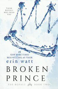 ★COVER REVEAL★ BROKEN PRINCE BY ERIN WATT