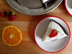 Chocolate cake with orange-coconut frosting - Sprouting Up