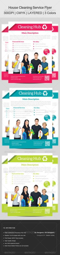 House Cleaning Brochure Pack u2013 Free PSD Template https\/\/www - house cleaning flyer template