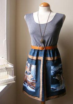 Jennifer Lilly Handmade Jennifer Lilly Snow Wolf Dress, $38.00,,,,BEAUTIFUL