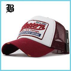 [FLB] Summer Baseball Cap Embroidery Mesh Cap Hats For Men Women Gorras Hombre hats Casual Hip Hop Caps Dad Casquette