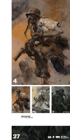 "WORLD WAR ROBOT 11"" x 17"" poster triptych set for SDCC '13"