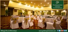 Top notch infrastructure with business spaces ranging from 400 sq.ft. to 10,000 sq.ft at Golden Palms Hotel & Spa, Bengaluru, is the ultimate destination to hold business meeting in the city. Visit now at www.goldenpalmshotel.com for more details. #MagnificentMondays