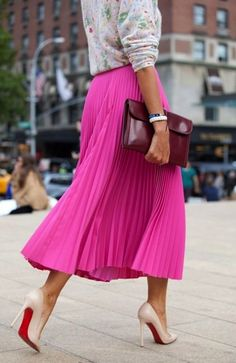 10 Ways To Wear Color
