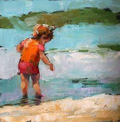 Carol Carmichael Peintures  Où ils iraient? 6x6  100usd