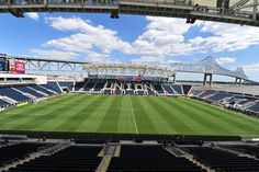 PPL Park - Supporter section is on the right. Sons of Ben!