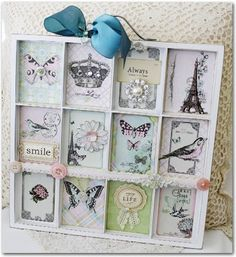 atc mini tray ideas | Emma's Paperie: Spotlight on Kaisercraft by Melissa Phillips