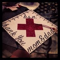 images of graduation caps for nursing - Google Search
