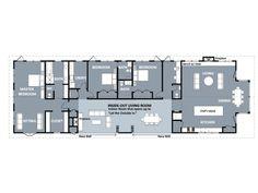 Ranch Style House Plan - 3 Beds 3.5 Baths 3450 Sq/Ft Plan #888-3 Floor Plan - Main Floor Plan - Houseplans.com