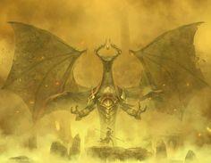 Magic The Gathering: Nicol Bolas by *Cryptcrawler on deviantART
