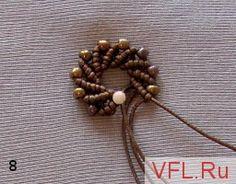 Macrame de los granos: Pendientes Espiral - Feria Masters - hecho a mano, hecho a mano