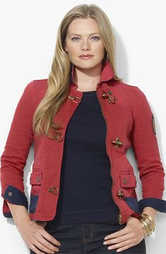 Lauren Ralph Lauren Denim Jacket (Plus) available at Nordstrom