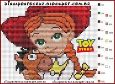 Jessie - Toy Story pattern by Dinha Ponto Cruz