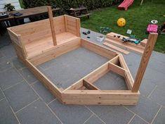 DIY pirate ship sandbox - All For Garden