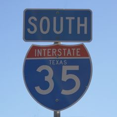 on the road again… southbound 35