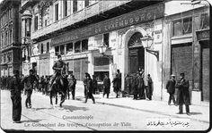 Yıldız Sarayı muhafız Komutanı Beyoğlu'nda 1909