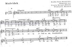 Ursula, Sheet Music, Content, Montessori, Music Sheets