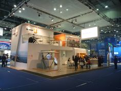 BG GROUP stand at Gastech 2014 - Seoul South Korea. Designed by Communication by Design jonathan@cbdint.com
