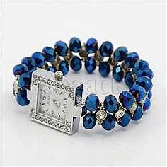 New Arrivals Watch Bracelets(X-BJEW-Q012-1-1)