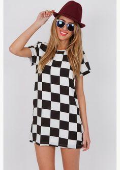 Siempre en blanco y negro | Vestidos de moda