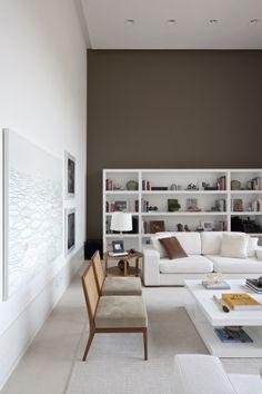 Decoração Apartamento Alto de Pinheiros - Por Dado Castello Branco