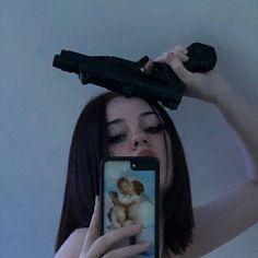 Badass Aesthetic, Bad Girl Aesthetic, Aesthetic Grunge, Aesthetic Anime, Edgy Makeup, Grunge Photography, Indie Kids, Grunge Girl, Tumblr Girls