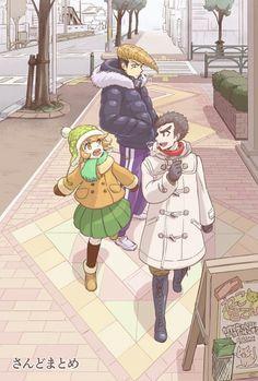 Danganronpa - Chishimondo (Ishimaru Kiyotaka, Oowada Mondo y Fujisaki Chihiro) Danganronpa Chihiro, Danganronpa Funny, Super Danganronpa, Danganronpa Characters, All Anime, Anime Art, Images Aléatoires, Ishimaru Kiyotaka, Gundam