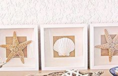 tables diy shell and starfish, design d cor, diy home crafts