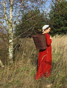 Willow backpack typ III small :: Medievalcraft, eura dress, viking dress