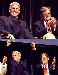 My two favourite people of NCIS