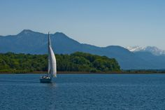 lake - Chiemsee by Vlado Ferencic