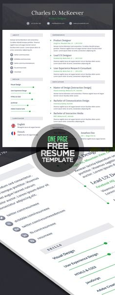 Download For Free This Creative Printable Resume Templates You