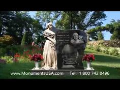 Monuments For Single | Grave Memorial Markers For One Person | Marble Gravestone For One