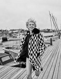 Vogue Japan January 2017 Romee Strijd by Mariano Vivanco - Fashion Editorials
