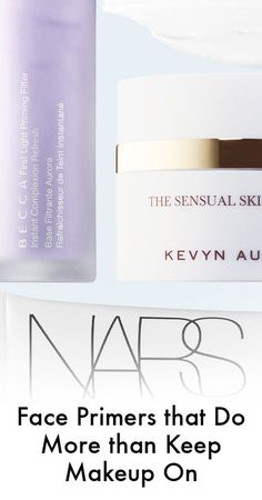 Not only do these primers keep your makeup on, they'll also help your skin out, too.
