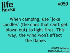 1000 life hacks is here to help you with the simple problems in life. Posting Life hacks daily to help you get through life slightly easier than the rest! Camping Hacks, Camping Glamping, Camping Life, Family Camping, Outdoor Camping, Camping Ideas, Camping Box, Camping Stuff, Travel Hacks