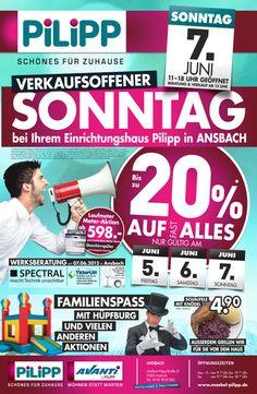 VERKAUFSOFFENER SONNTAG in Ansbach