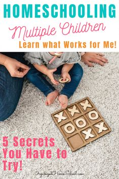 Learn 5 Secrets to Homeschooling Multiple Children Successfully from a mom who does it every day! Homeschooling multiple ages and grades can be done! Preschool Supplies, Preschool Schedule, Preschool Lesson Plans, Preschool Curriculum, Homeschooling, Kindergarten, Homeschool Diploma, High School Literature, Multiplication For Kids