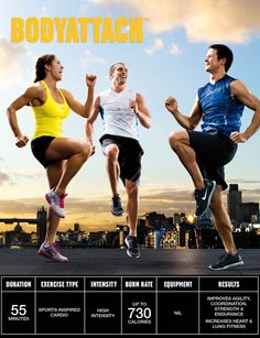 Les Mills Body Attack -Upgrading myself to five days a week of exercise. 3 days…