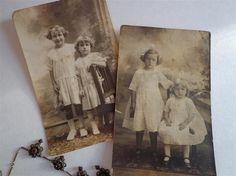 Vintage Black and White Photo Postcards- Lot of 2- on Madeleine's Pockets Etsy storefront