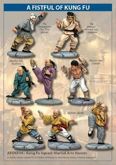 Kung Fu Squad: Martial Arts Heroes