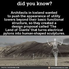 An interesting design idea that could change the shape of pylons.