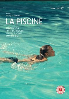 """The inspiring and timeless style of iconic film """"La Piscine"""" directed by Jacques Deray starring Romy Schneider, Alain Delon, Jane Birkin and Maurice Ronet. Film Gif, Film Movie, Jane Birkin, Cinema Posters, Movie Posters, Good Movies, Movies To Watch, Alain Delon, Movies And Series"""