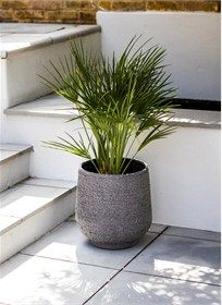 The Longborough Planter Small is sophisticated in style and fully weatherproof