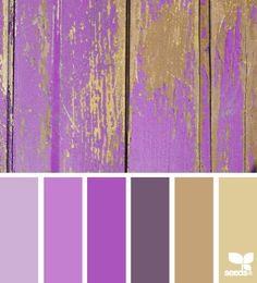 worn bright paint colors. jh