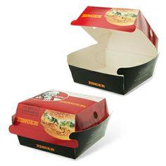 kfc high street food packaging