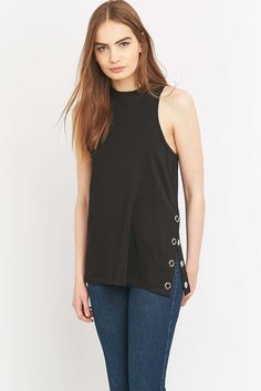 Cheap Monday Lucid Black Tank Top
