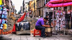 street vendor, mexico city