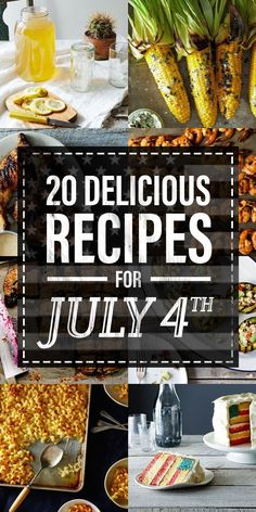 20 Recipes To Feast On For The Fourth Of July - http://nifymag.com/20-recipes-to-feast-on-for-the-fourth-of-july/